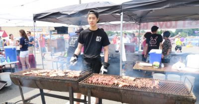 The Honey Pig grill at the 2015 Taste of Annandale.